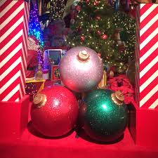 large bulbs large balls outside decorations