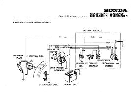 gx390 wiring diagram honda wiring diagrams instruction