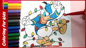 christmas coloring pages disney donald duck christmas cards