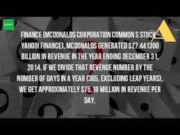 how much does mcdonalds make in a year
