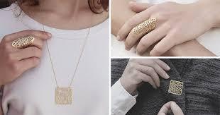 unique jewelry this designer creates unique jewelry from city maps contemporist