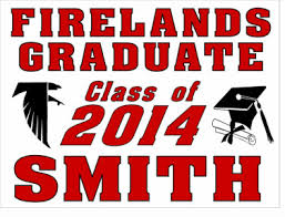 graduation sign it s graduation signs decal order time firelands local
