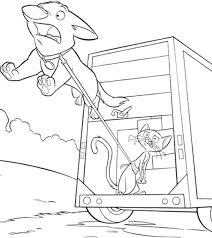 jumping bolt free printable cartoon coloring pages cartoon