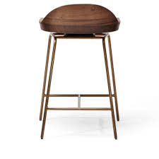 low back swivel bar stools leather backless bar stools with