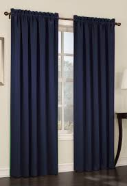 Navy Curtain S Lichtenberg Room Darkening 54 X84 Panel Navy