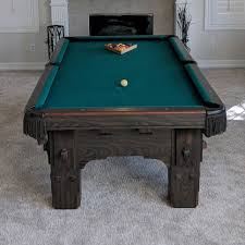 how to put a pool table together finished installing this 8 foot one piece slate delta pool table in