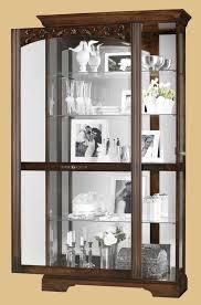 Corner Curio Cabinet Australia Curio Cabinet 680580 Modern Curio Cabinet In Cherry Finish