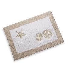 Seashell Bathroom Rugs Seashell Bathroom Rugs