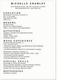 resume for high school student college student exle resume high school sle intended for