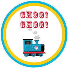 thomas train label template pictures pin