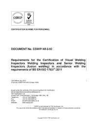 cswip wi 6 92 13th edition july 2015