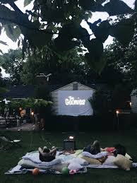 how to host a backyard movie night bev cooks