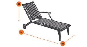 Chaise Lounge Cover How To Measure For Patio Furniture Covers