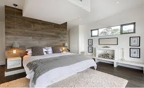 Bedroom Rustic - 15 beautiful bedroom designs with wooden panneling rilane