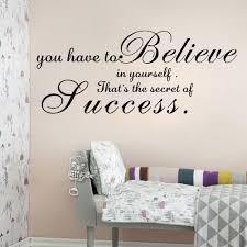 inspiring phrase dream until your dreams come true wall sticker