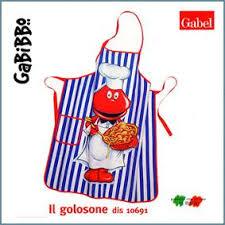 grembiuli da cucina spiritosi vendita gabibbo grembiule cucina softandsoft it soft soft