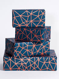 copper wrapping paper geometry wrapping paper