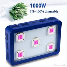 dimmable led grow light 600w 1000w full spectrum led lamps for