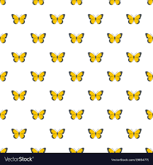 flying butterfly pattern seamless royalty free vector image