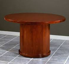Circular Boardroom Table New 4 U0027 Feet Wood Round Conference Table Ch Rub C6 Color4office
