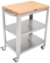 stainless steel cutting board table amazon com john boos culinarte stainless steel kitchen cart with
