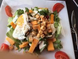 restaurant le bureau brive salade sans poulet et avocats picture of au bureau brive la