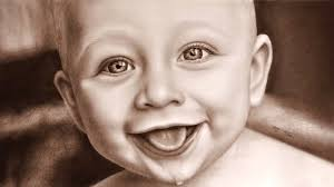 baby laughing speed painting how to draw a baby funny babies