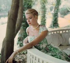 dress pearl necklace images Dress grace kelly actress floral dress classy dress pearl jpg