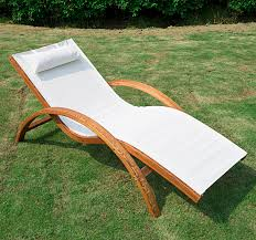 In Pool Chaise Lounge Wooden Patio Chaise Lounge Chair Outdoor Furniture Pool Garden
