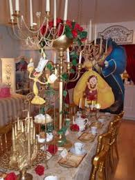 This Beauty And The BeastInspired Dinner Party Will Enchant The - Beauty and the beast dining room