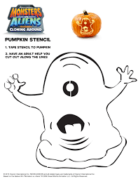 Monster Vs Aliens Halloween by Dreamworks Halloween Pumpkin Stencils A Mom U0027s Take