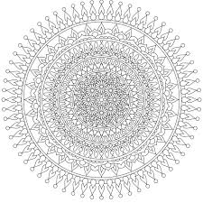 378 coloring monday mandalas images mandalas