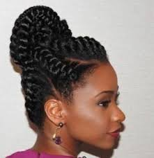 black hair bun american braided bun braids into a bun black hair