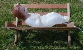replacement nativity baby jesus for general foam plastics corp