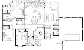 house plans single level smart placement single level house plans with basement ideas