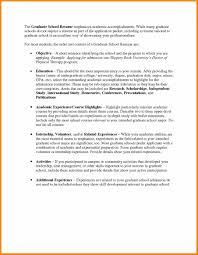 graduate school resume template graduate school resume template