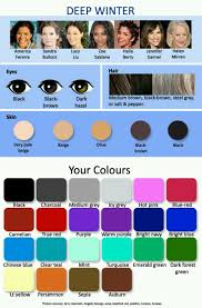 best hair color for deep winters the best colors for winter type person dark eyes dark hair