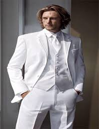 costume mariage blanc très confortable 2016 blanc sur mesure fit costumes pour hommes