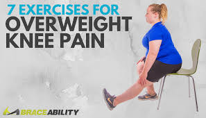 My Knee Hurts When I Go Down Stairs by 7 Exercises For Overweight Or Obese People With Knee Pain