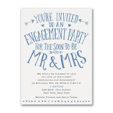 personalized engagement party invitations custom engagement