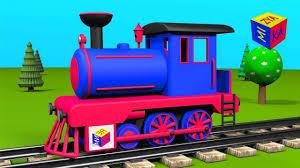 trains for children steam locomotive construction game
