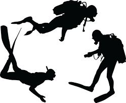 68 Best Wall Silhouettes Images by Scuba Divers Silhouette Vinyl Wall Art Sticker Diver Jpg 1 600