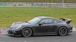 porsche 911 gt3 modified porsche 911 gt3 facelift tackles the nurburgring
