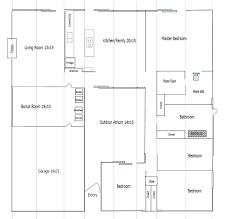 Best Eichler Floor Plans Images On Pinterest Modern Floor - Family room floor plans