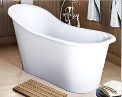Deep Bathtubs Standard Size Small Soaking Tub Is Suitable For A Small Sized Bathroom