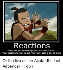 Avatar The Last Airbender Memes - spirit reactions there are just somethings that you can t unsee