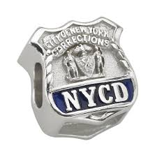 pandora bracelet charms sterling silver images A city of new york corrections nycd charm fits pandora jpg