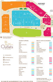 Mall Of America Store Map by San Diego Outlets At The Border Is The Newest Factory Outlet