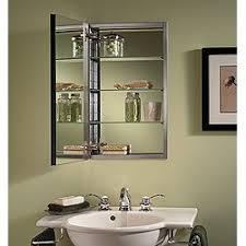 beveled glass medicine cabinet recessed nutone s468244ss studio iv series recessed beveled mirror medicine