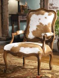 Cowhide Print Cow Print Dining Chair Fraufleur Com